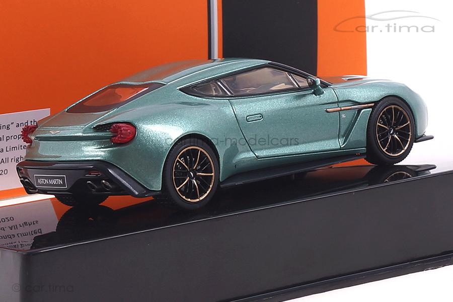 Aston Martin V12 Vanquish Zagato grün met. IXO 1:43 MOC302