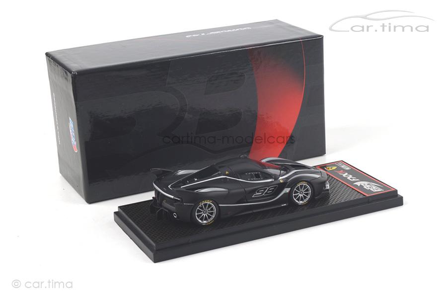 Ferrari FXXK #98 schwarz matt BBR 1:43 BBRC186D