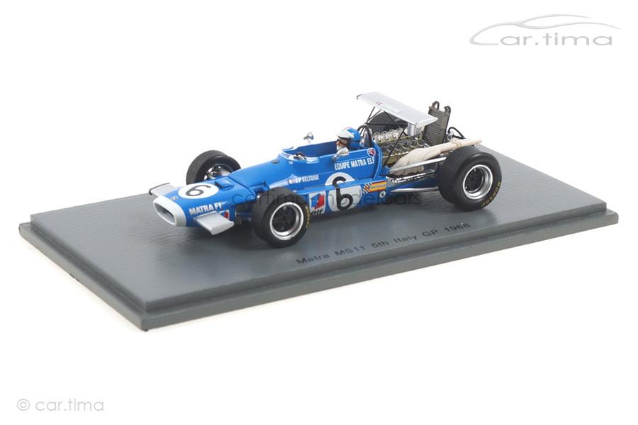 Matra MS11 GP Belgien 1972 Jean-Pierre Beltoise Spark 1:43 S7185