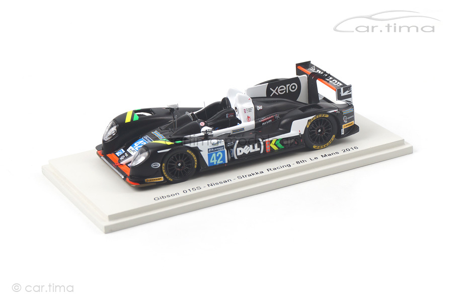 Gibson 015S-Nissan 24h Le Mans 2016 Kane/Leventis/Watts Spark 1:43 S5124