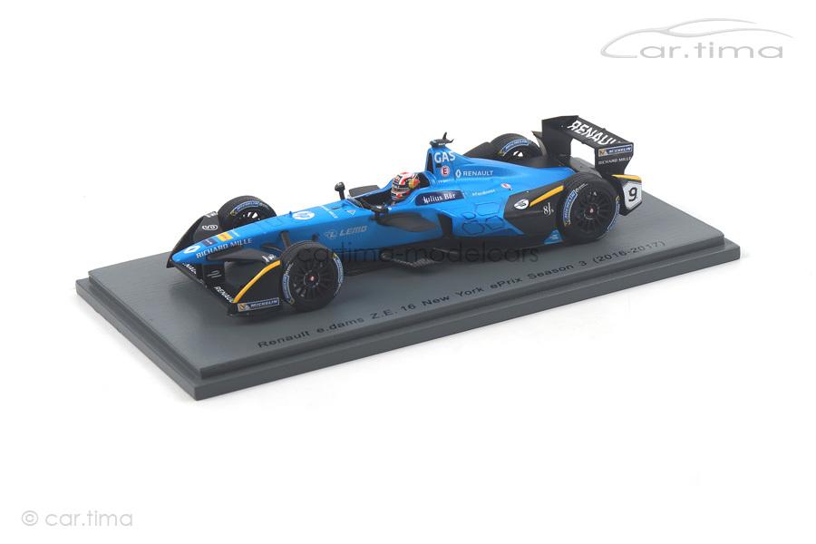 Renault e.dams Z.E. 16 Formula E 2016-2017 Pierre Gasly Spark 1:43 S5922