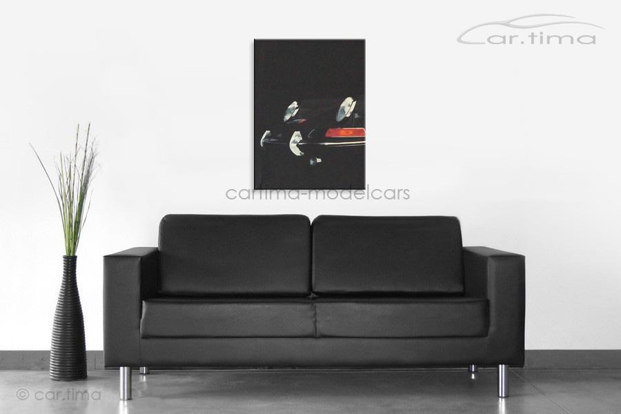 Kunstdruck auf Leinwand/Keilrahmen Porsche 901 45x60 cm