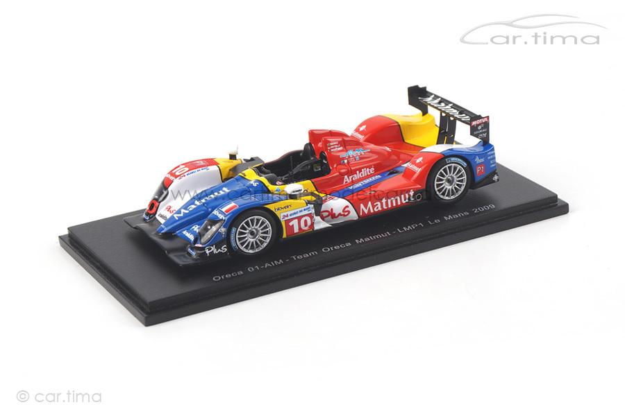 Oreca 01-AIM 24h Le Mans 2009 Monteiro/Senna/Ortelli Spark 1:43 S4550