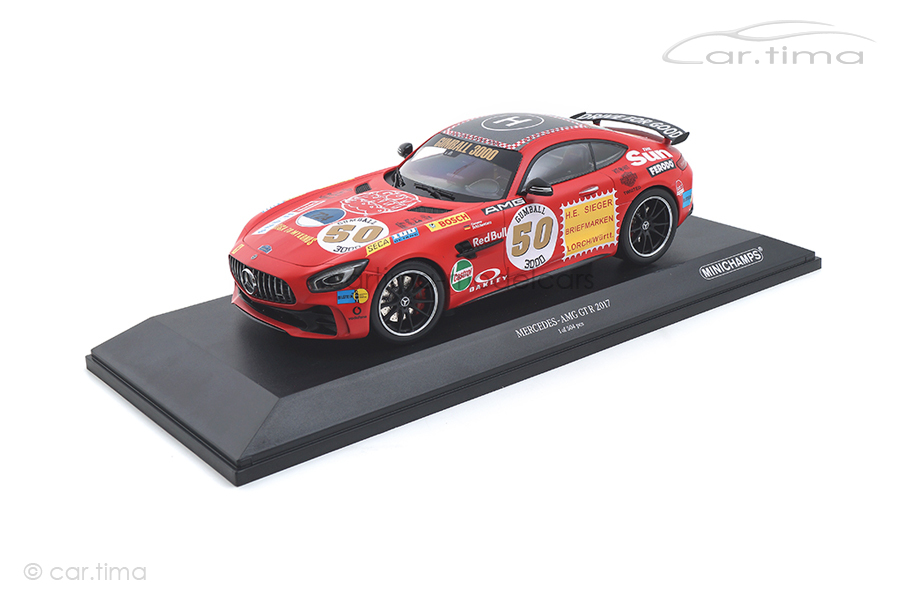 Mercedes-AMG GTR 2017 Rote Sau Minichamps 1:18 155036024