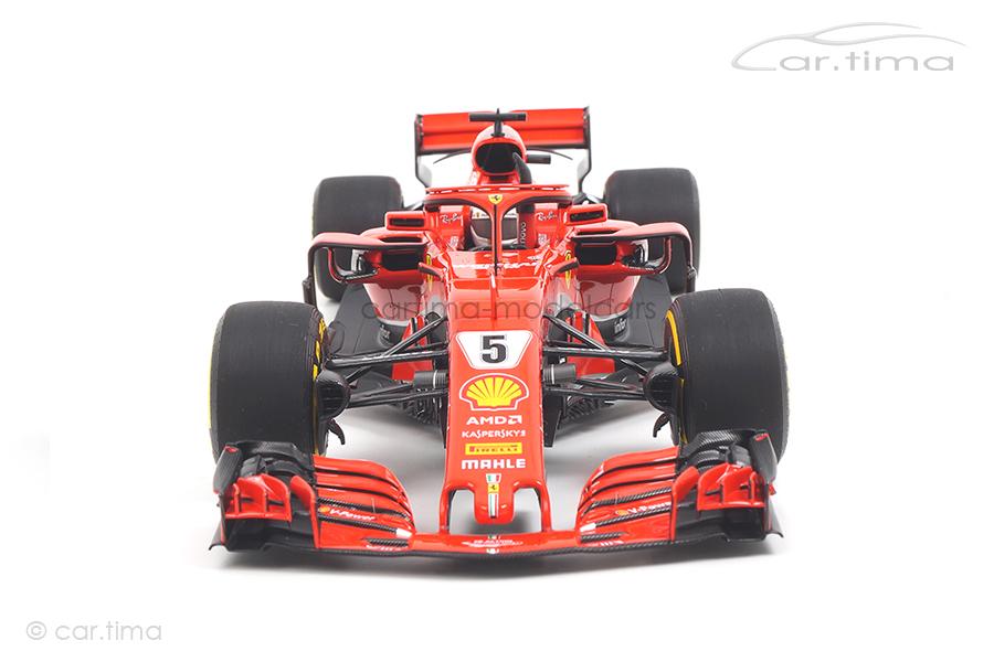 Ferrari SF71-H GP Australia 2018 Sebastian Vettel BBR 1:18 BBR181805