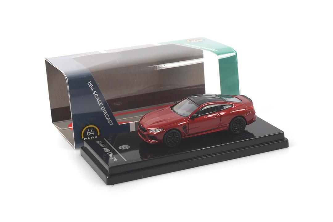 BMW M8 Coupe Motegi red Paragon 1:64 PA-55211