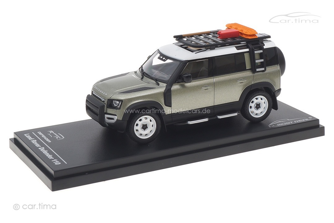 Land Rover Defender 110 2020 Pangea Green Almost Real 1:43 410804