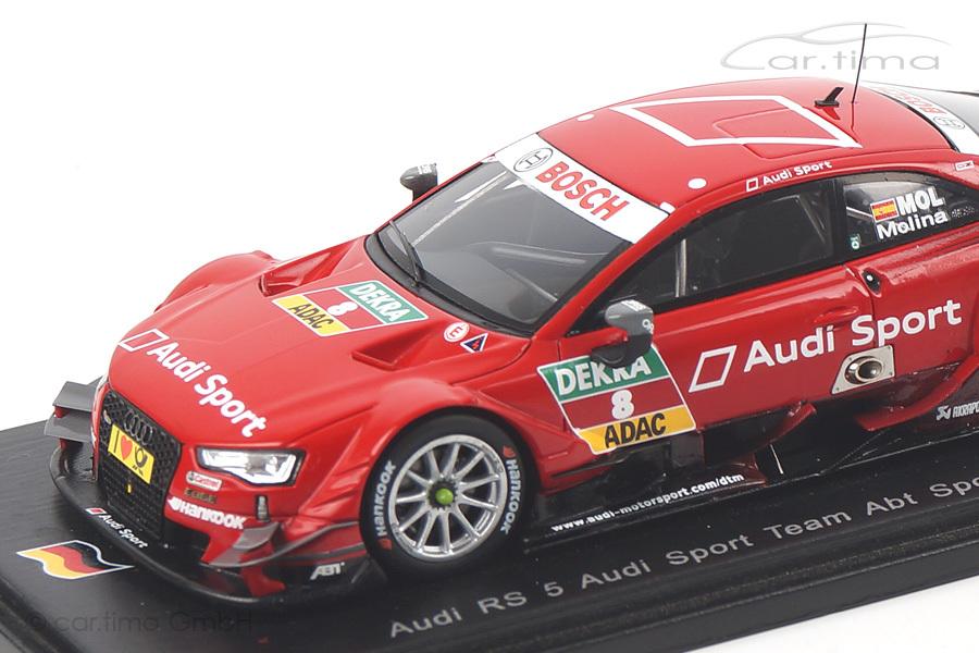 Audi RS5 DTM 2014 Miguel Molina Spark 1:43 SG173