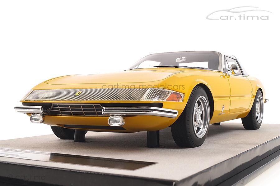 Ferrari 365 GTB/4 Daytona Coupe 1969 gelb Tecnomodel 1:18 TM18-108C