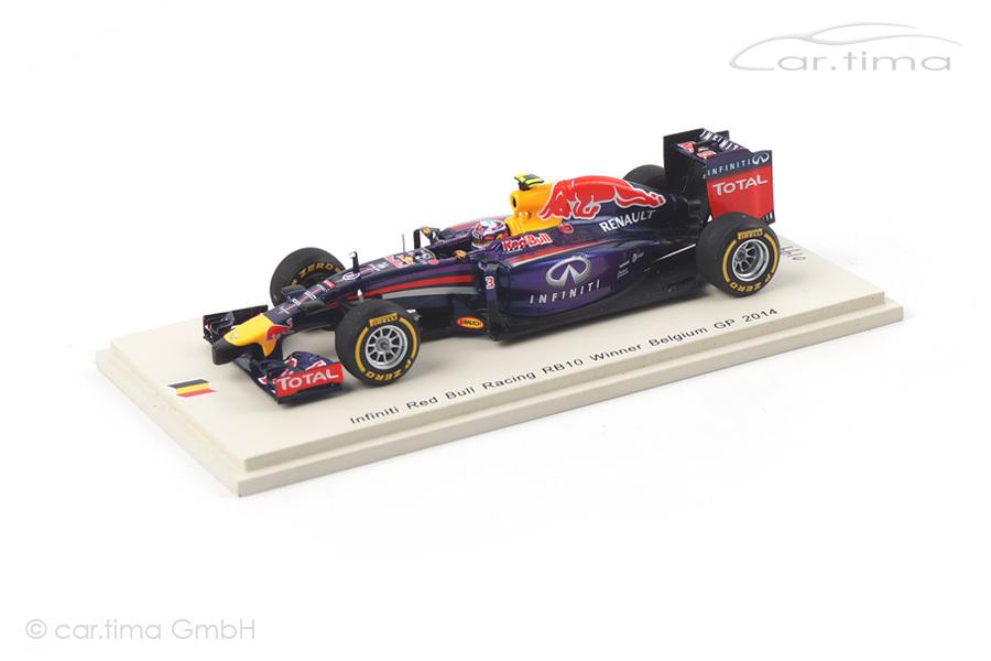 Red Bull Racing RB10 Winner GP Belgien 2014 Daniel Ricciardo Spark 1:43 SB070