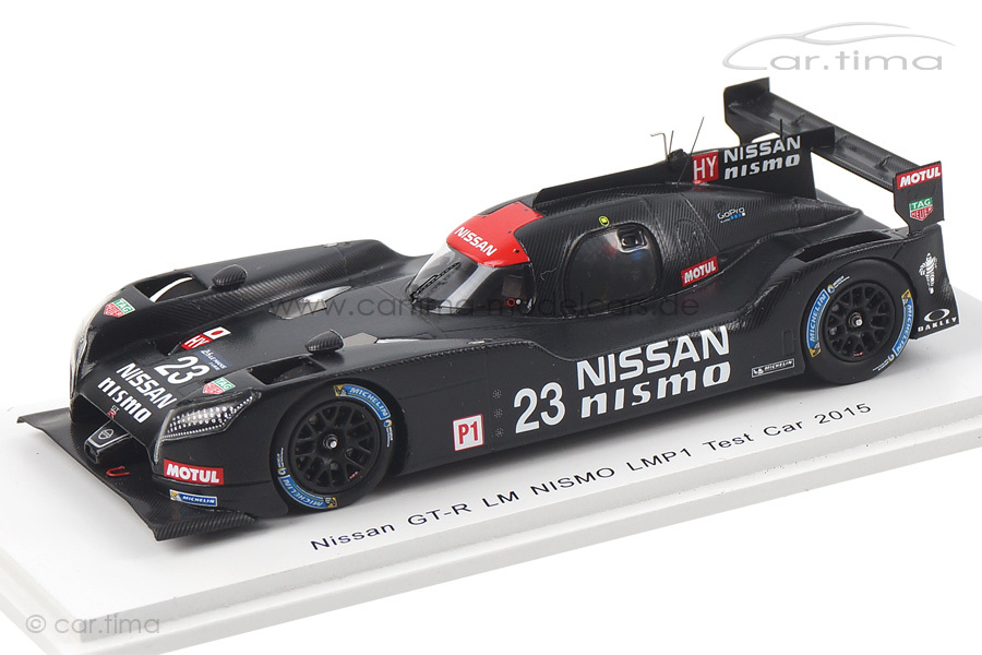 Nissan GT-R LM Nismo LMP1 Test 2015 Spark 1:43 S4560