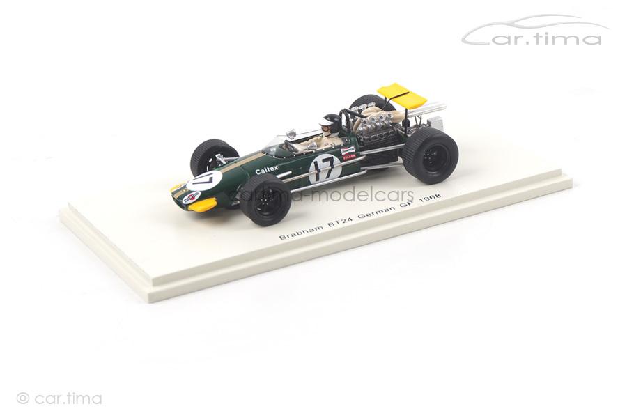 Brabham BT24 GP Deutschland 1968 Kurt Ahrens Spark 1:43 S4780