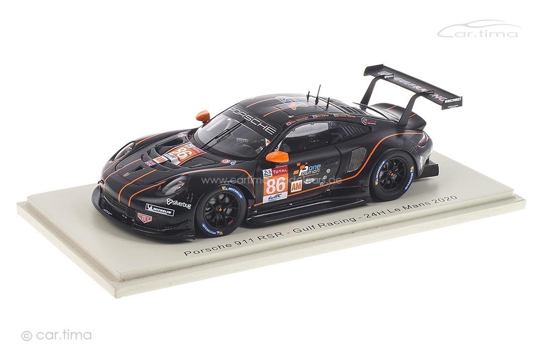 Porsche 911 RSR 24h Le Mans 2020 Barker/Wainwright/Watson Spark 1:43 S7991