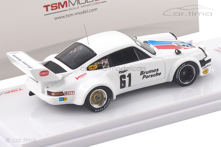 Porsche 934/5 12h Sebring 1977 Brumos Racing TSM 1:43 TSM430225