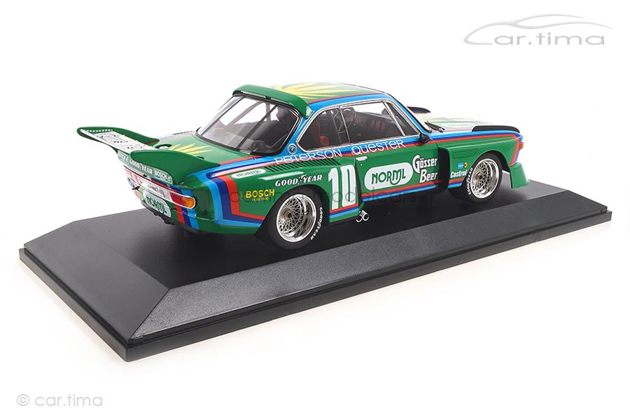 BMW 3.5 CSL 6h Watkins Glen 1976 Quester/Peterson  Minichamps 1:18 155762610