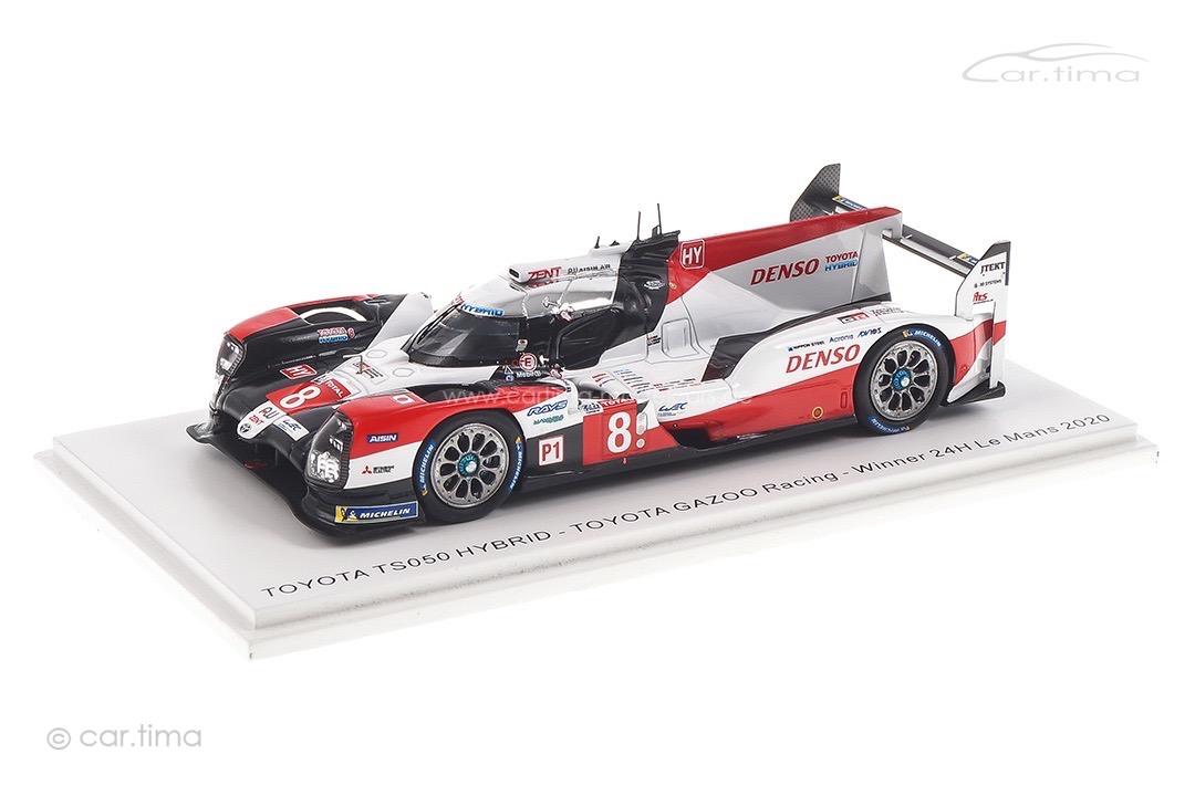 Toyota TS050 Hybrid Winner 24h Le Mans 2020 Buemi/Hartley/Nakajima Spark 1:43 43LM20