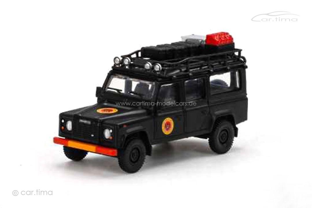 Land Rover Defender 110 schwarz MINI GT 1:64 MGT00158