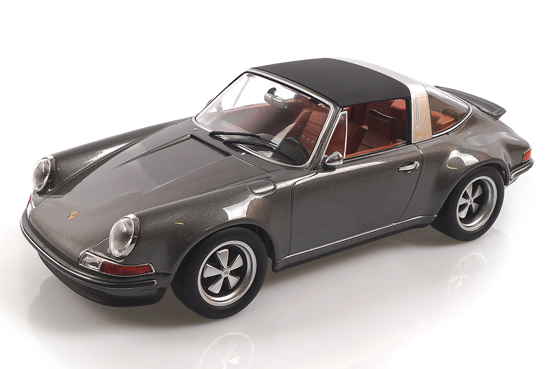 Singer Porsche 911 Targa grau KK Scale 1:18 KKDC180471