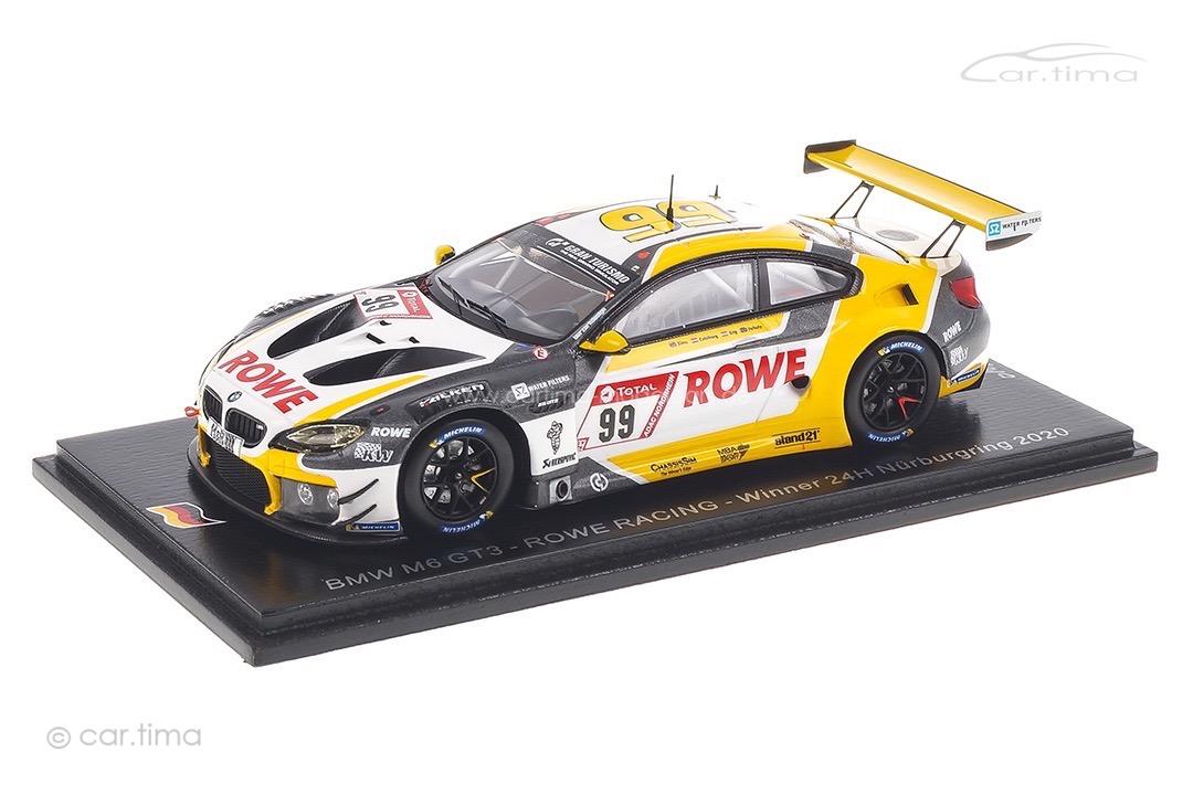 BMW M6 GT3 Winner 24h Nürburgring 2020 Catsburg/Sims/Yelloly Spark 1:43 SG680