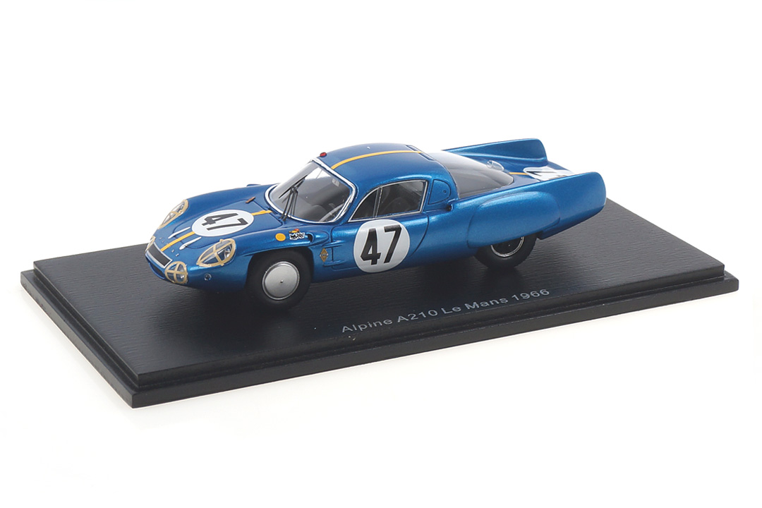 Alpine A210 24h Le Mans 1966 Toivonen/Jansson Spark 1:43 S5476