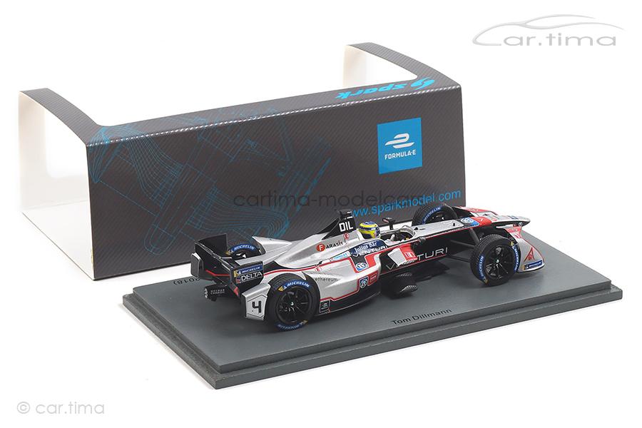 Venturi Formula E Race 1 New York ePrix Season 4 2017-2018 Tom Dillmann Spark 1:43 S5926