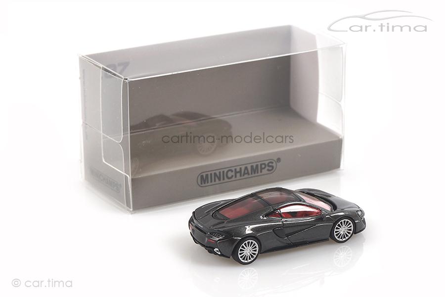 McLaren 570GT Storm Grey Minichamps 1:87 870154520