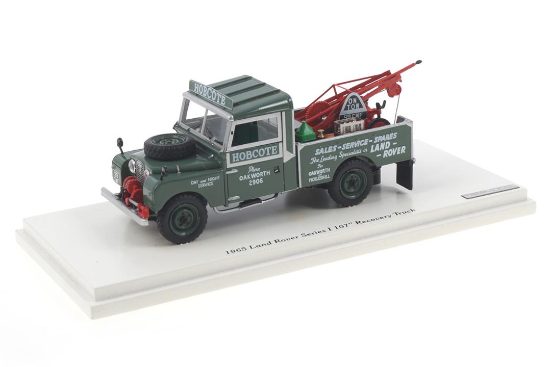 "Land Rover Series I 107"" Recovery Truck TSM-Model 1:43 TSM124380"