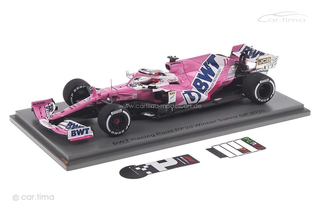 BWT Racing Point RP20 Winner GP Sakhir 2020 Sergio Perez Spark 1:43 S6485