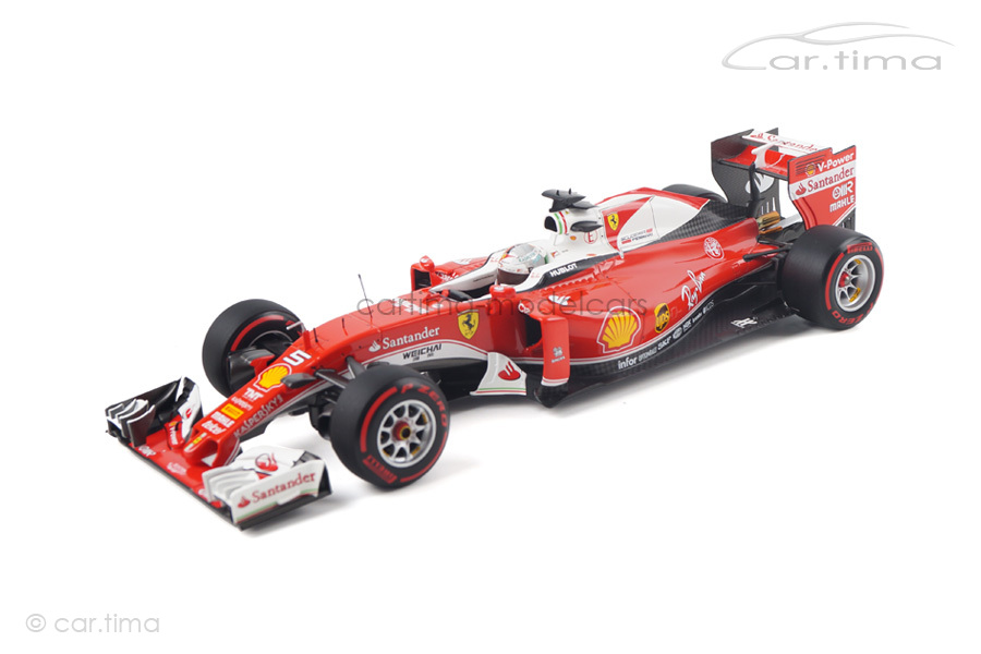 Ferrari SF16-H GP Italy 2016 Sebastian Vettel BBR 1:18 BBR181625