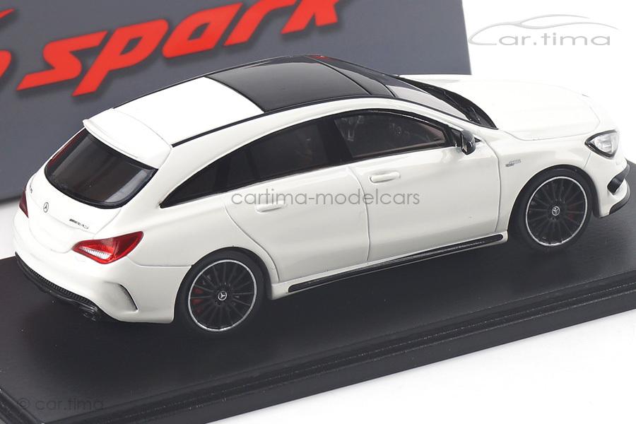 Mercedes CLA 45 AMG Shooting Brake weiß Spark 1:43 S4990