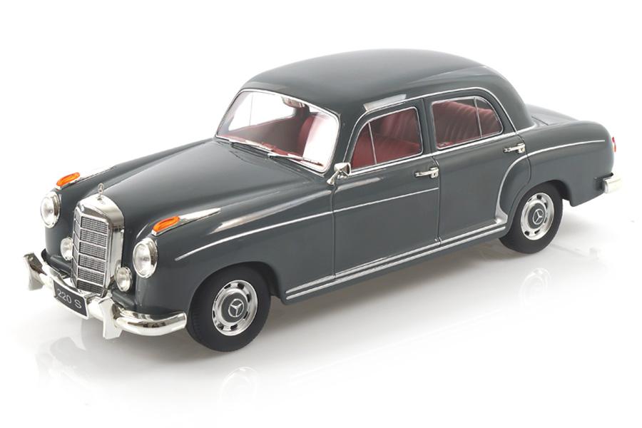 Mercedes-Benz 220 S Limousine 1954 grau KK Scale 1:18 KKDC180323