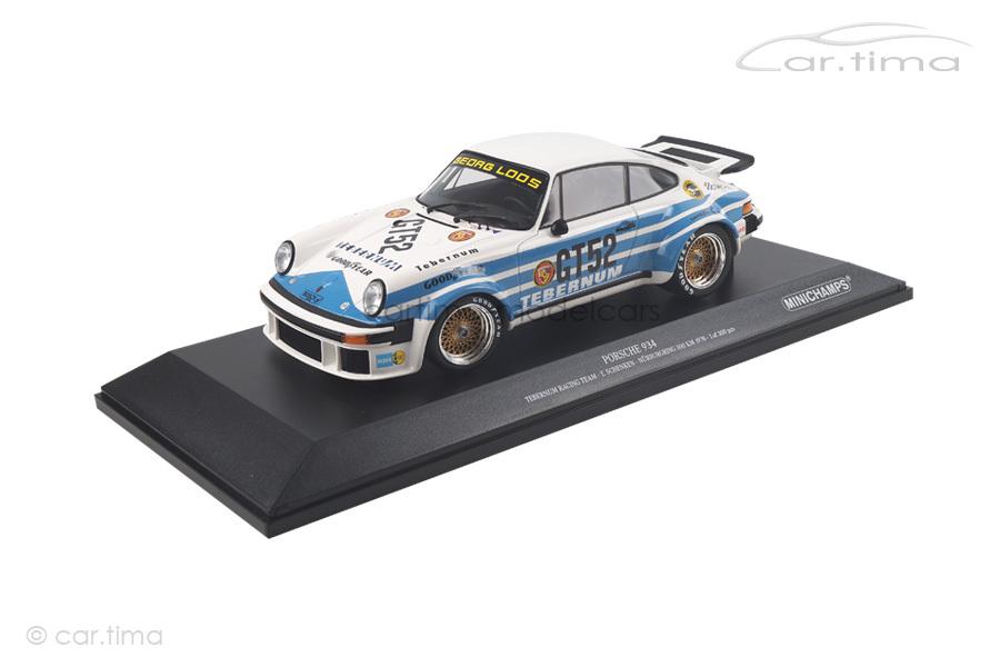 Porsche 934 300 km Nürburgring 1976 Schenken Minichamps 1:18 155766452