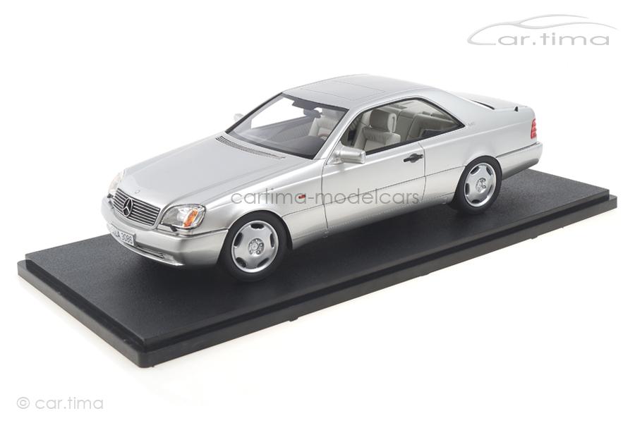 Mercedes-Benz 600 SEC C140 silber Cult Models 1:18 CML079-1