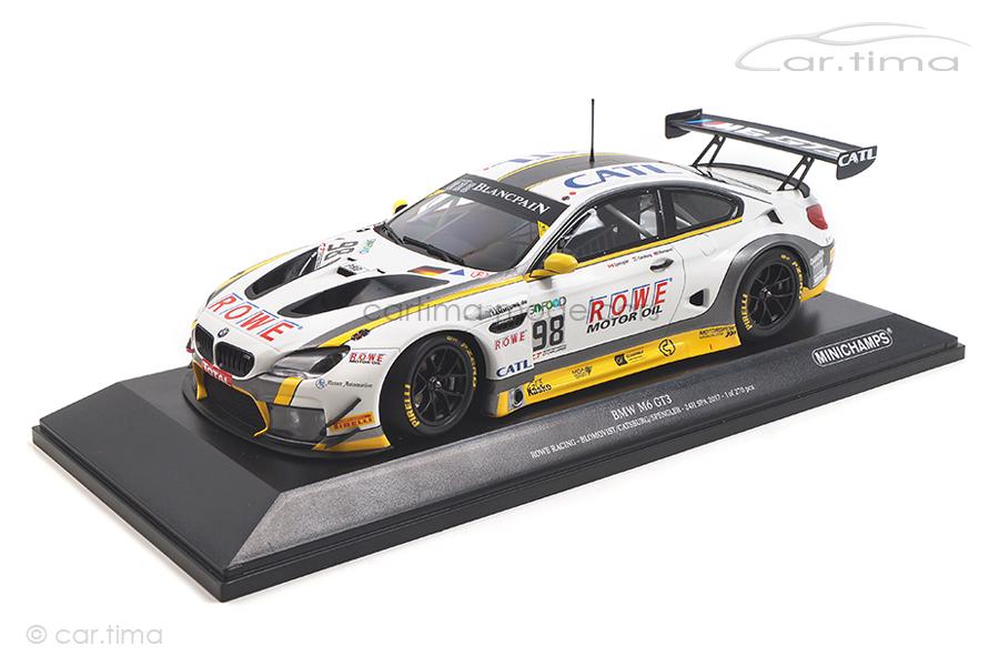 BMW M6 GT3 24h Spa 2017 Blomqvist/Catsburg/Spengler Minichamps 1:18 155172688