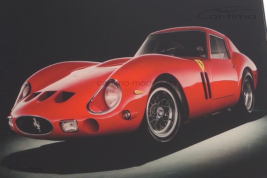Bildermeister MINIpic Ferrari 250 GTO 1962 Acrylglas-Aufsteller 14 cm x 20 cm HR11001225