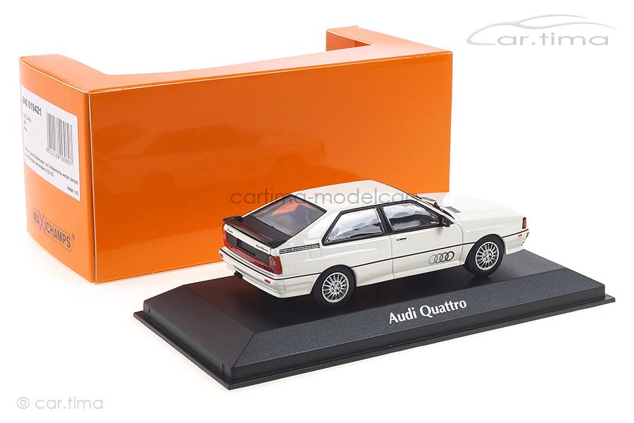 Audi Quattro 1980 weiß Minichamps 1:43 940019421