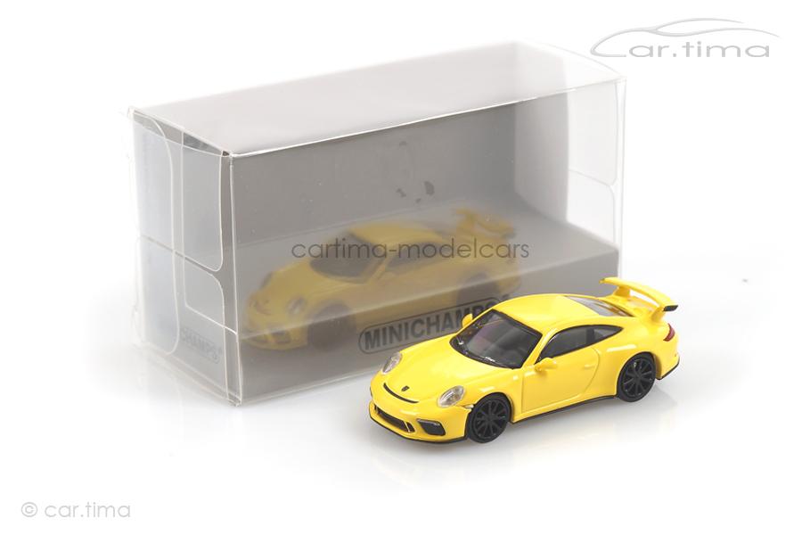 Porsche 911 (991 II) GT3 Racinggelb Minichamps 1:87 870067321