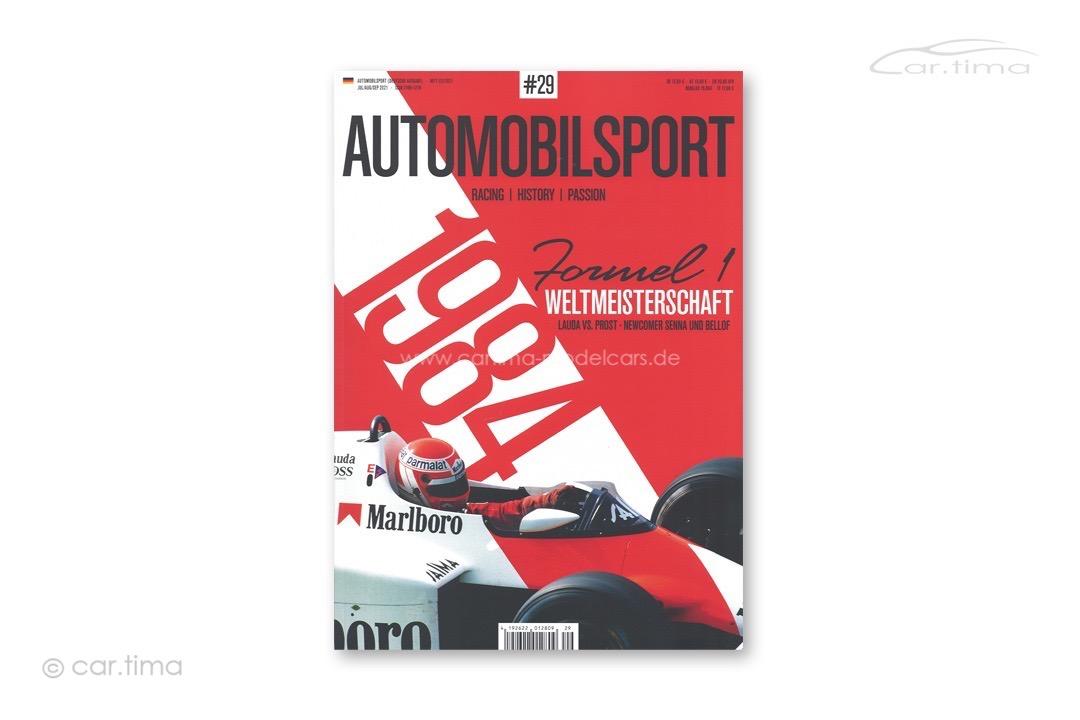 Zeitschrift / Magazine Automobilsport #29 Deutsche Edition M-AMS29-DE
