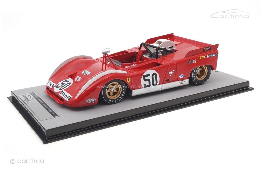 Ferrari 712 Can-Am Watkins Glen 1971 Mario Andretti Tecnomodel 1:18 TM18-225B