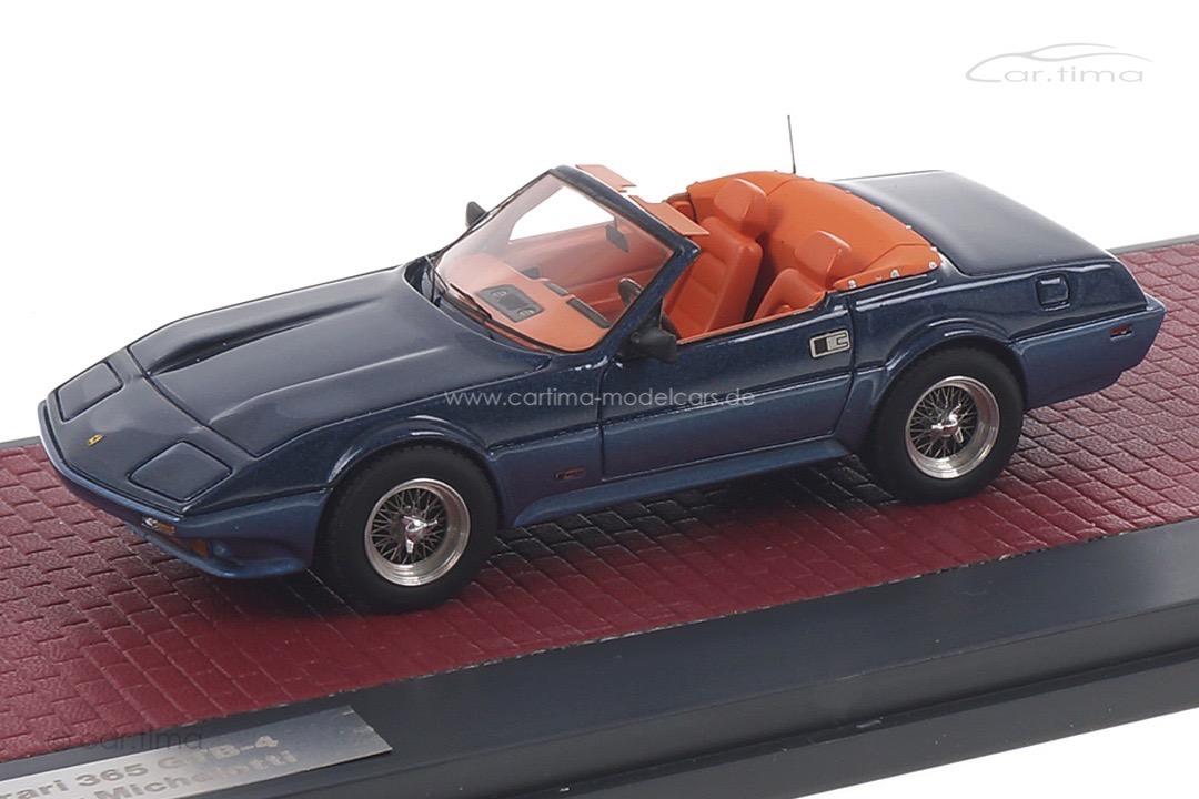 Ferrari 365 GTB-4 NART Spider Michelotti 1972 blau Matrix 1:43 MX40604-092