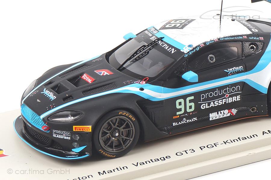 Aston Martin Vantage GT3 24h Spa 2014 Gaw/White/Dryburgh Spark 1:43 SB090