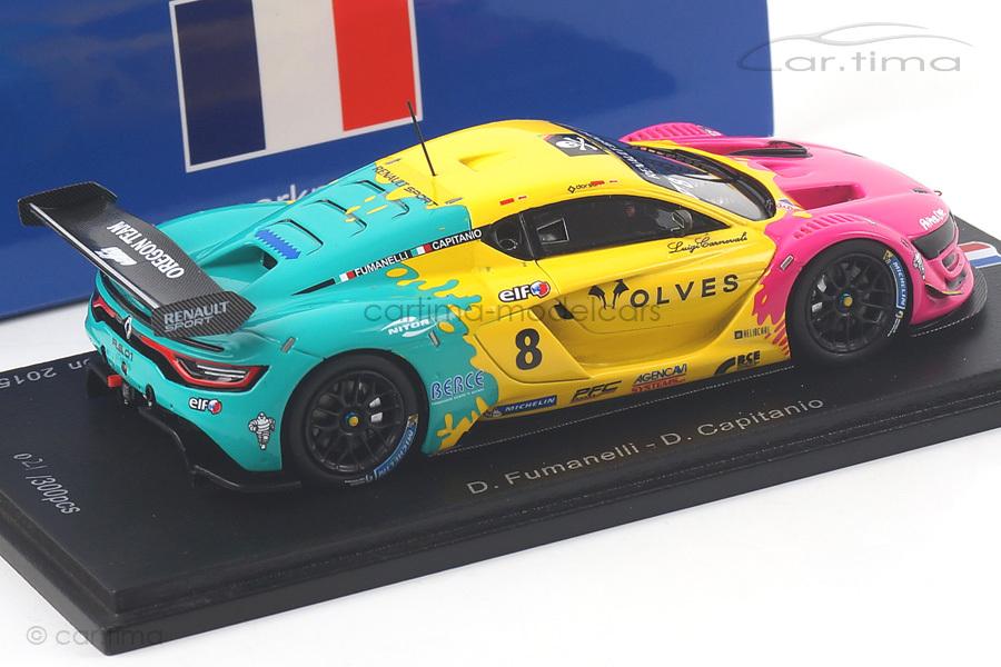 Renault R.S. 01 Champion Renault Sport Trophy 2015 Fumanelli/Capitanio Spark 1:43 SF102