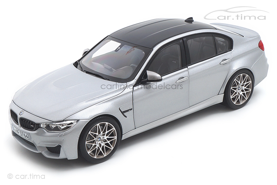BMW M3 Competition 2017 silber Norev 1:18 183235