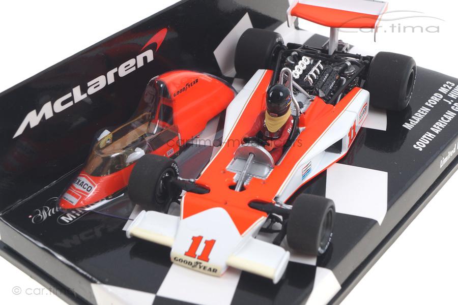 McLaren Ford M23 South African GP 1976 James Hunt Minichamps 1:43 530764331