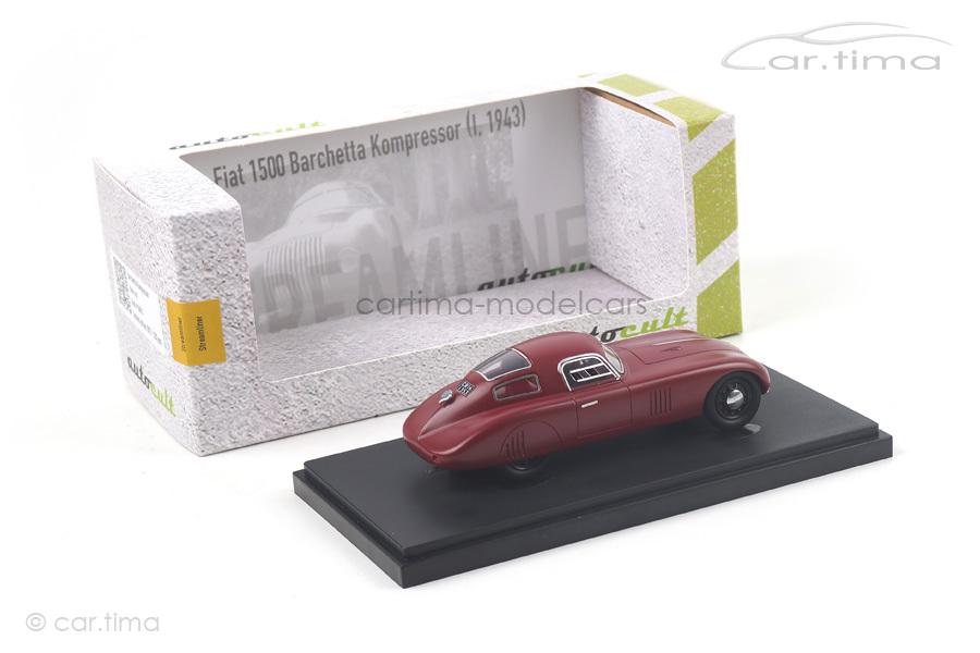 Fiat 1500 Barchetta Kompressor 1943 autocult 1:43 04013