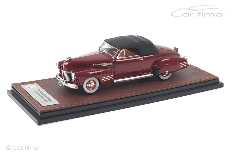 Cadillac Series 62 Convertible Coupe rot GLM 1:43 GLM119704