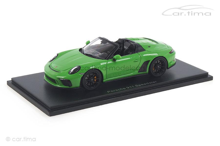 Porsche 911 (991 II) Speedster Lizardgrün Spark 1:43 S7633
