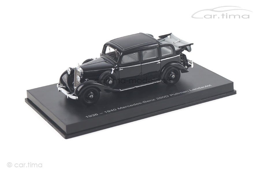 Mercedes-Benz 260D Pullman Landaulet 1936 schwarz Esval Models 1:43 EMGEMB43001A