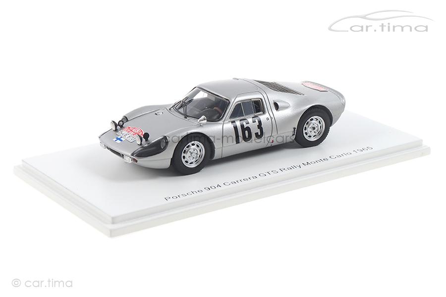 Porsche 904 Carrera GTS Rallye Monte-Carlo 1965 Toivonen/Järvi Spark 1:43 S0906