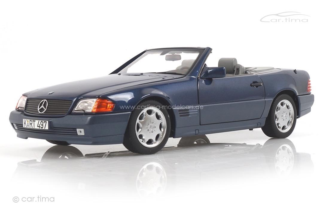 Mercedes-Benz 500 SL (R129) blau met. Norev 1:18 183717
